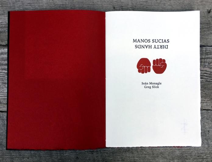 Manos Sucia title spread blog