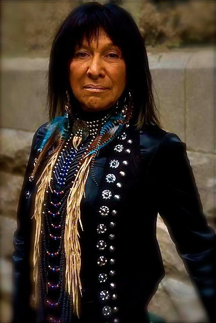 Singer-songwriter Buffy Sainte Marie, Toronto, 2009